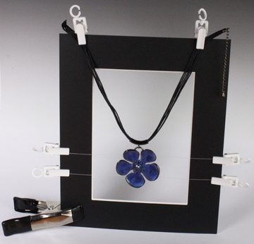 EZcube EZstaging Freeze Frame Kit with Blue Flower Necklace