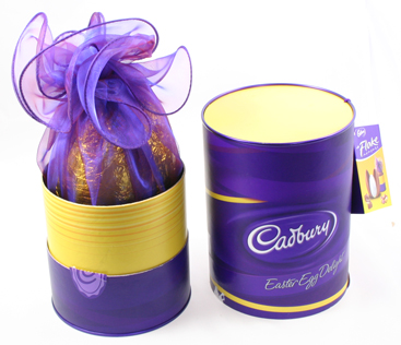 Cadburys Easter Egg Photographed with EZcube Universal Kit 30