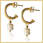 Touched image of earrings