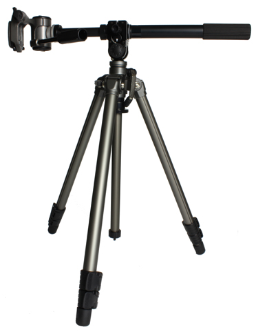 Horizontal Tripod with rotating arm