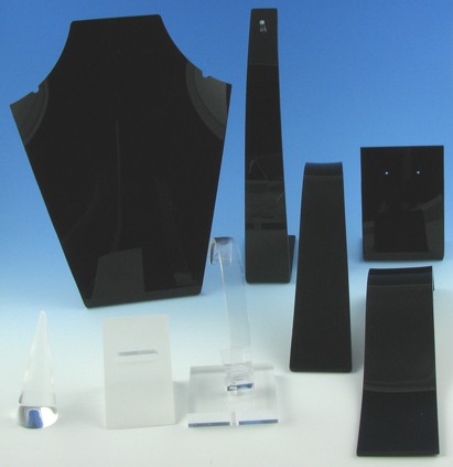 Black Jewellery Displayer Kit