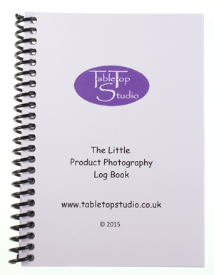 The Litte Product Photography Log Book