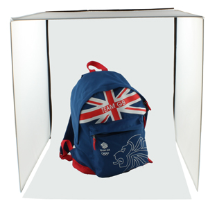 SimplyFoto Square Light Tent 60cm containing rucksack