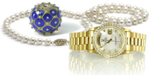 beads and watch
