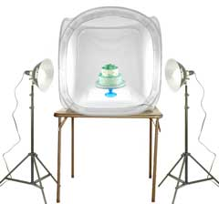 Glass Photography Kit with EZcube