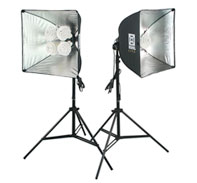 =Kuhl Lite 120 & 30 Combo Lights Set on Large Stands