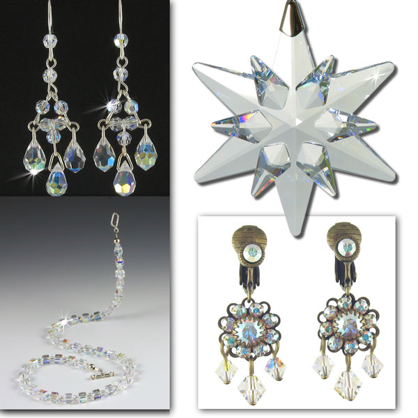 Jewellery with sparkles